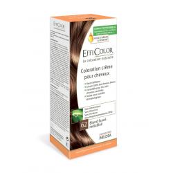 Coloration Crème EffiColor® 62-Blond foncé métallisé